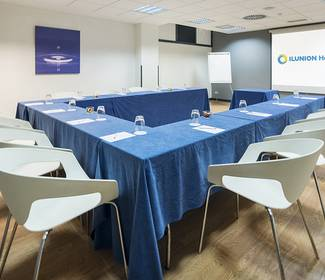 Meeting-rooms hotel ilunion romareda saragosse