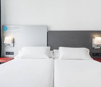 Chambre individuelle corporate hotel ilunion suites madrid