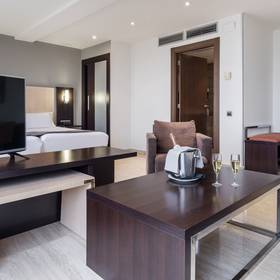 Junior suite hotel ilunion almirante barcelone