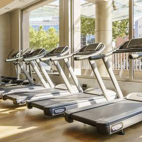 Gym hotel ilunion alcalá norte madrid